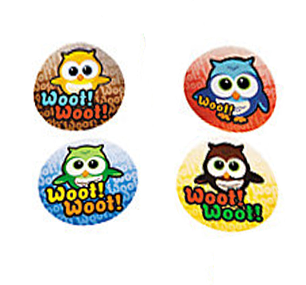 YOURE A HOOT OWL PARTY Owl Stickers Party Favours Pack of 50 Free Postage