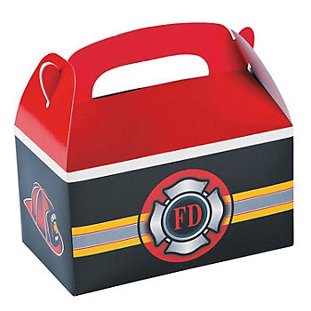 Fire Department Treat Boxes - Party by Post