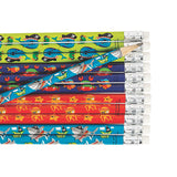 PIRATE PARTY Fun Pirates Animal Pencils with Eraser Pack of 12 Favours Free Post