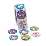 Unicorn Party Stickers Rainbow Unicorns Sticker Pack of 50 Free Postage