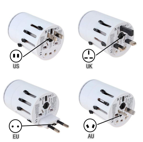 ITC015 round LED display travel adaptor