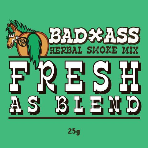 BAD-ASS BLEND HERBAL SMOKE MIX -25G