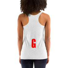 Women's I Love My Ginger Blue Racerback Tank