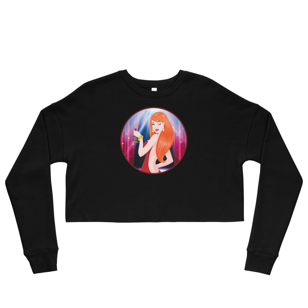 Whiskey Ginger - Women's Crop Sweatshirt