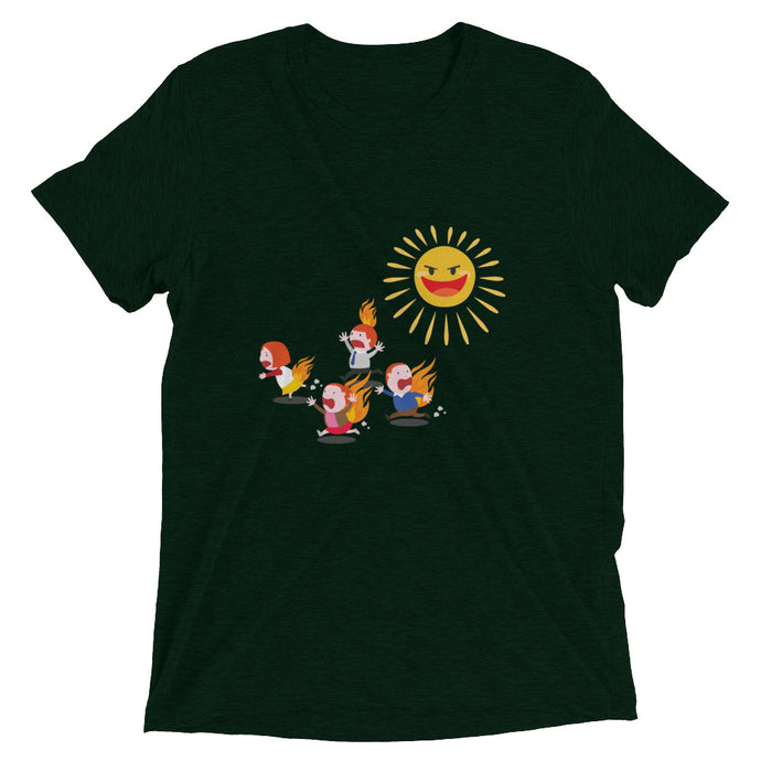 The Sun Hurts! - Men's Short sleeve t-shirt