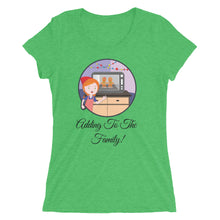 Adding to the Family - Women's short sleeve t-shirt