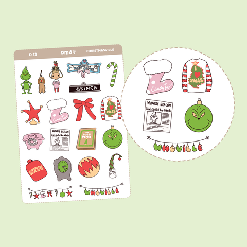 Chinese/Lunar New Year Stickers | D13