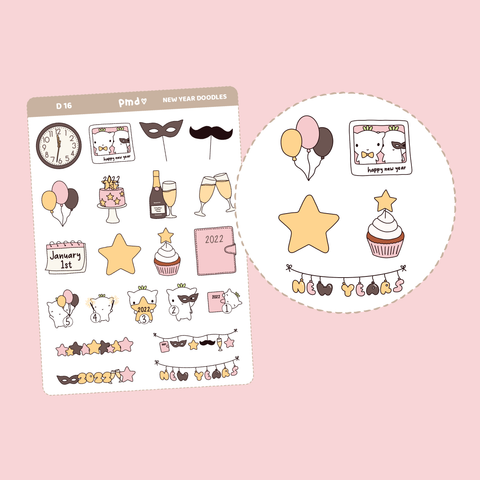Galentine's Day Stickers | D16