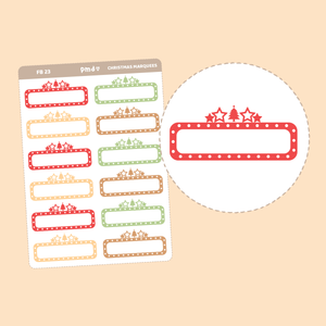 Online Shopping Box Stickers | FB23