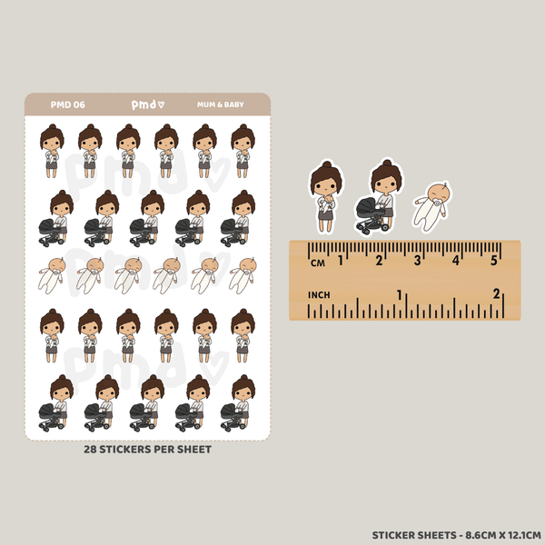 Baby | PMD People Stickers | PMD06