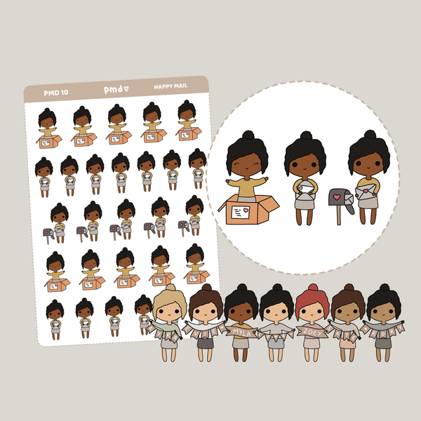 Mail | PMD People Stickers | PMD10