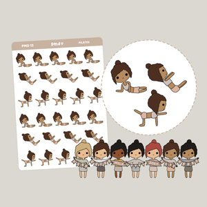 Pilates | PMD People Stickers | PMD13