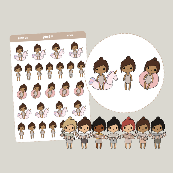Girl Guide | PMD Girl Stickers | PMD28