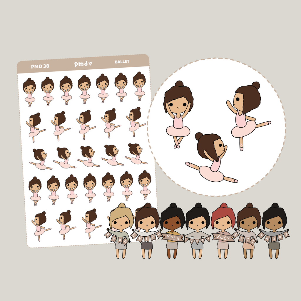 Therapy | PMD Girl Stickers | PMD38