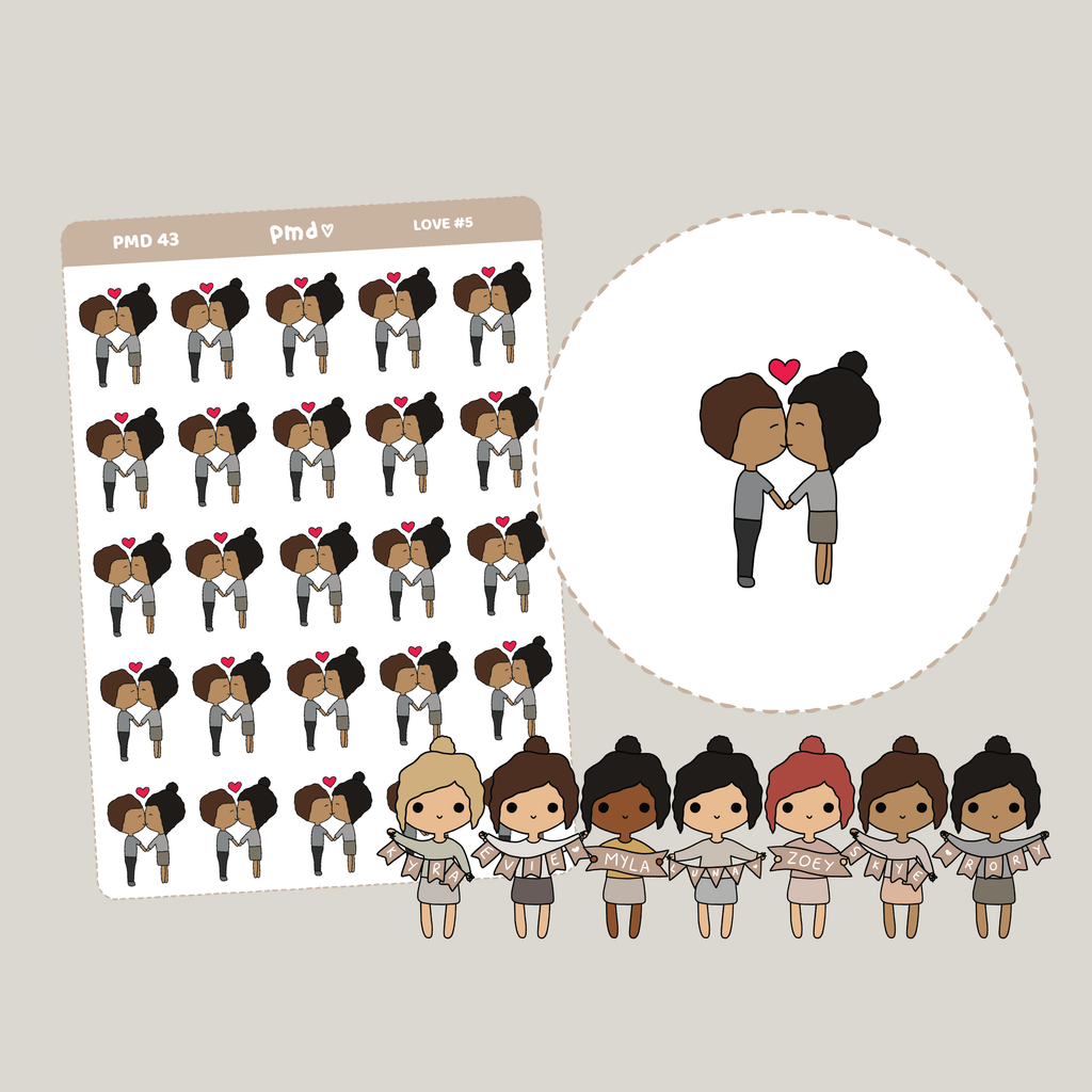 Workout | PMD Girl Stickers | PMD43