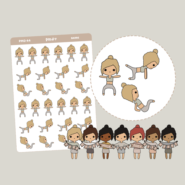 Cat | PMD Girl Stickers | PMD44