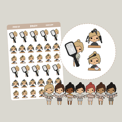 Hair Appointment | PMD People Stickers | PMD57