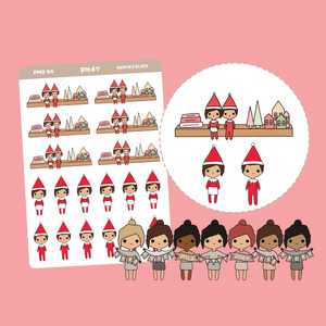 Wedding Sticker Set #1 - Bride & Groom | PMD Girl Stickers | PMD64