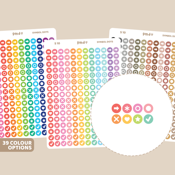 Mini Shape Stickers