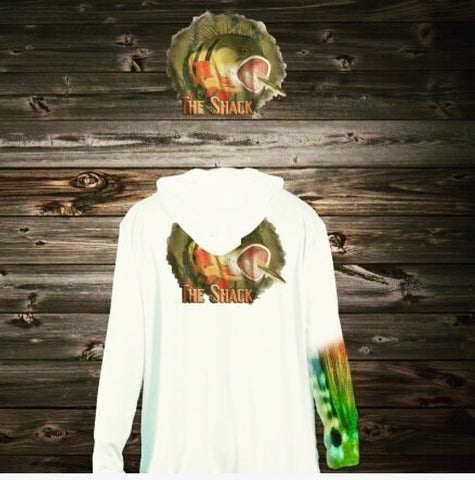 Angry Peacock Long Sleeve Shirt with Hoodie