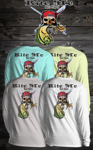 BMBS Long Sleeve Pirate Skull