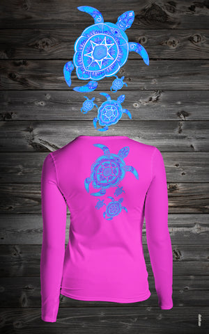 BMBS Women Generation's of Turtle Long Sleeve Shirt