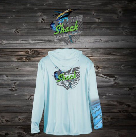 Twisted Sailfish Long Sleeve Shirt with Hoodie