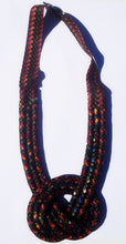 MultiRope Middle Knot Necklace Dark Colors