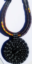 Multi-Rope Ankara Pendant Necklace