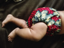 African Wax Print Diaper Covers