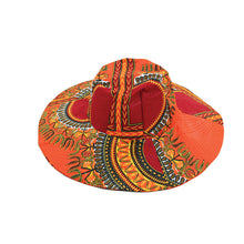 Traditional Sun Hat Orange