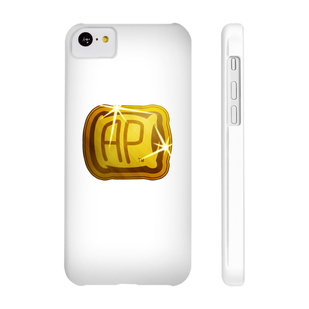 White and Gold Phone Case