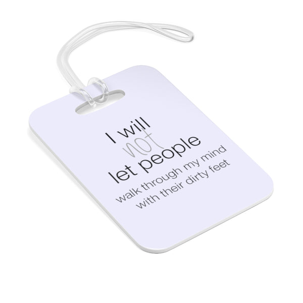 Wise Perspective Bag Tag