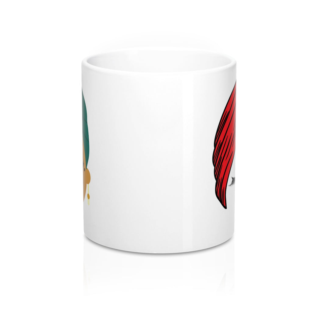 Turban Lashes Coffee Mug 11oz