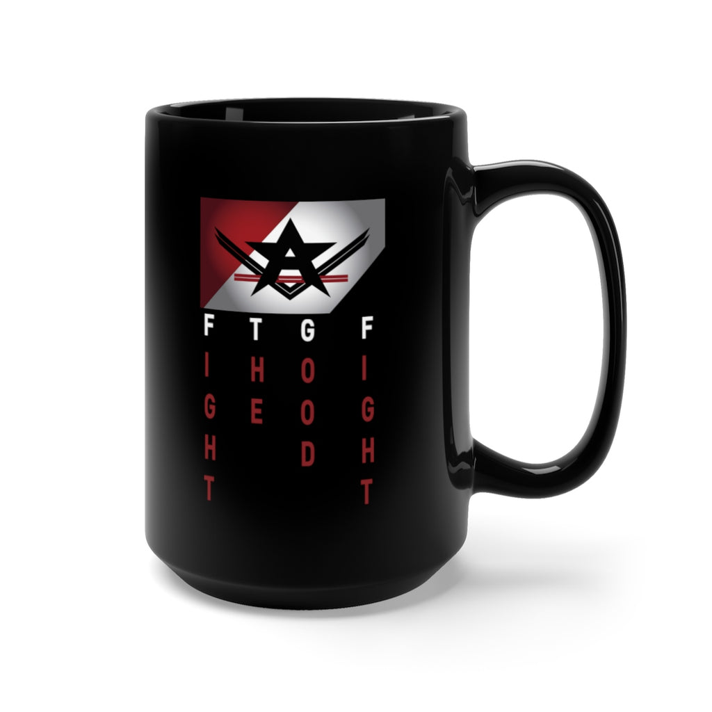RPF Flag Black Mug 15oz