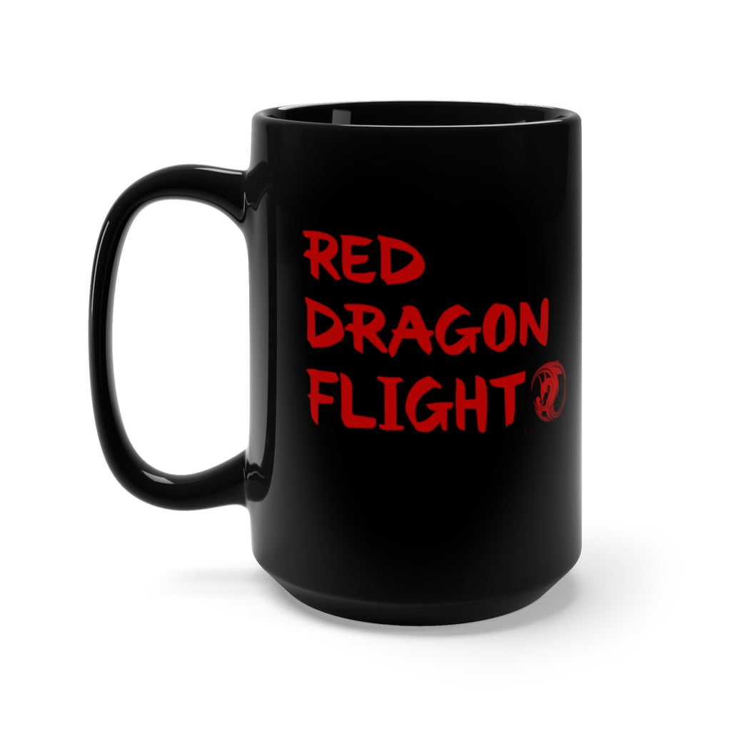 Alliestrasza Red Dragon Flight Collection15 oz. Black Mug