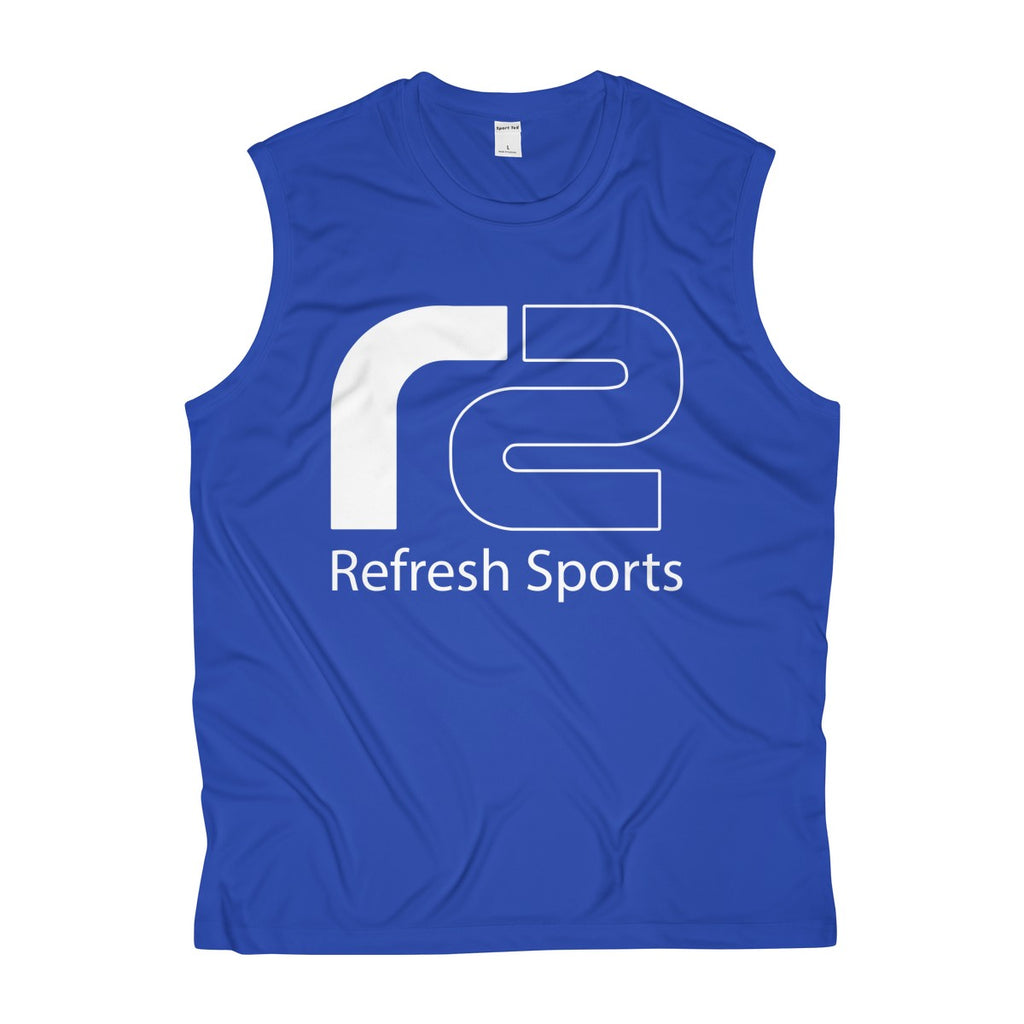 Men's Sleeveless Performance Tee by Refresh Sports