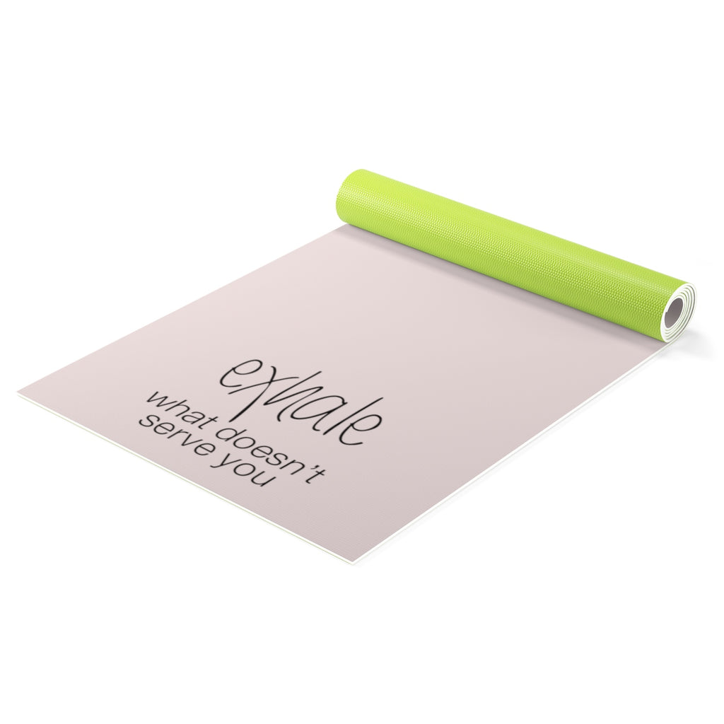 Breath in Peace Yoga mat