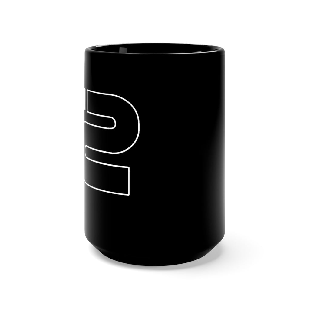 Black Mug 15oz by Refresh Sports