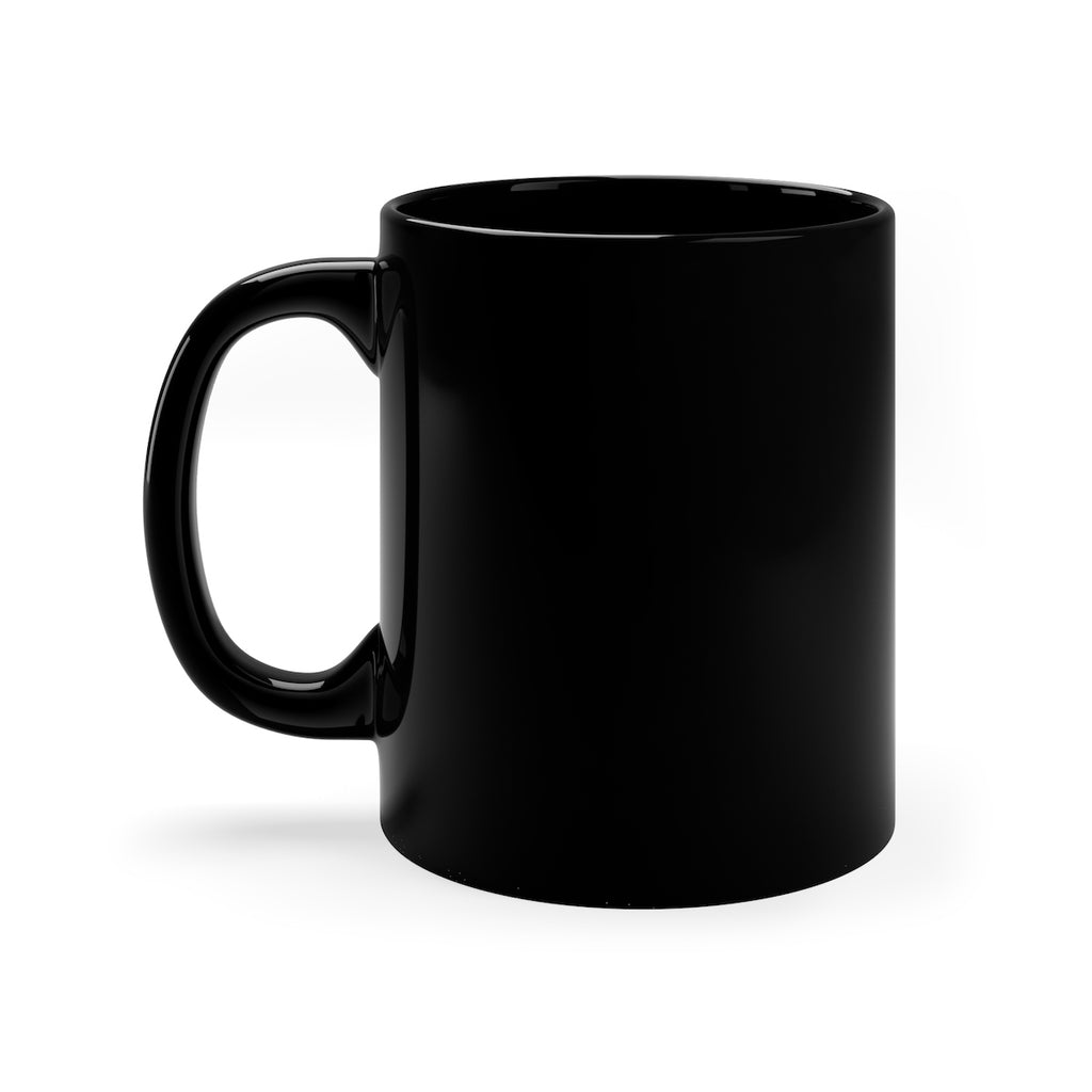 Black mug 11oz by Refresh Sports