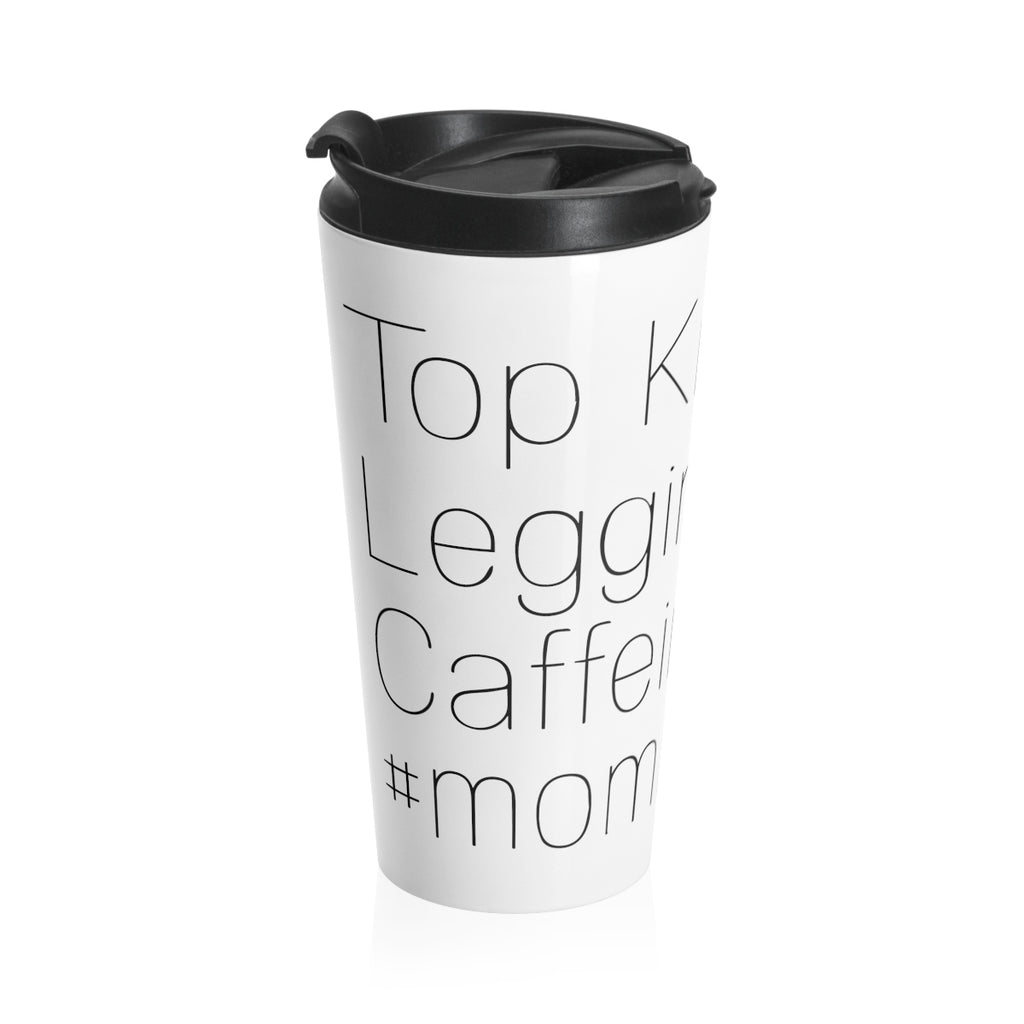 Elle Lindquist Top Knot Travel Mug