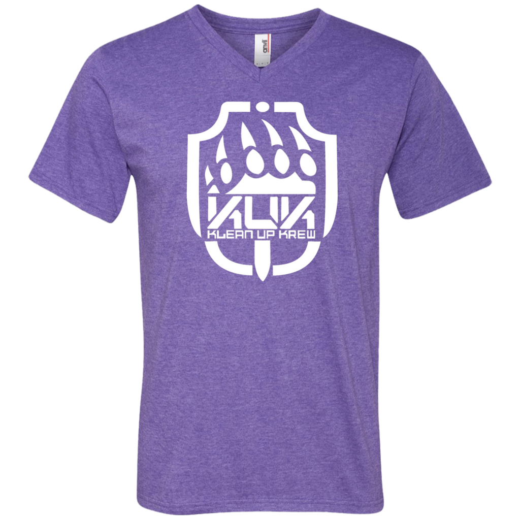 KUK Printed V-Neck T-Shirt