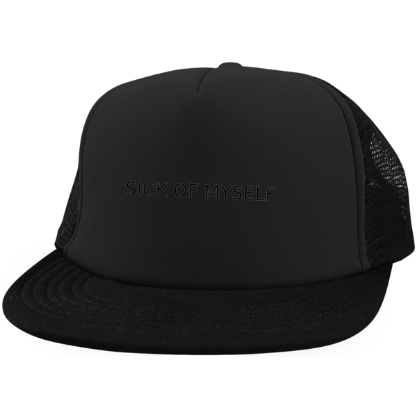 DT624 District Trucker Hat with Snapback