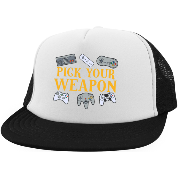 Dan's Pick your Weapon Hat