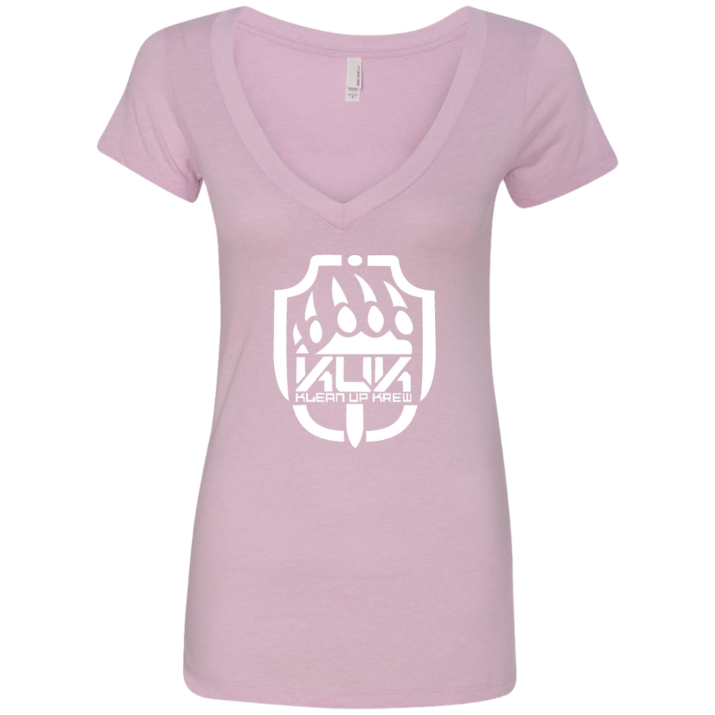 KUK Next Level Ladies' Deep V-Neck T-Shirt