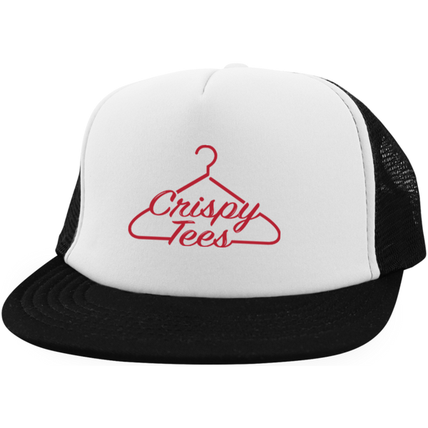 CrispyTees Trucker Hat with Snapback