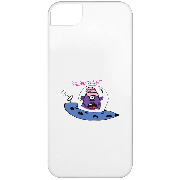 01 - ALIEN QUAN iPhone 5 Case