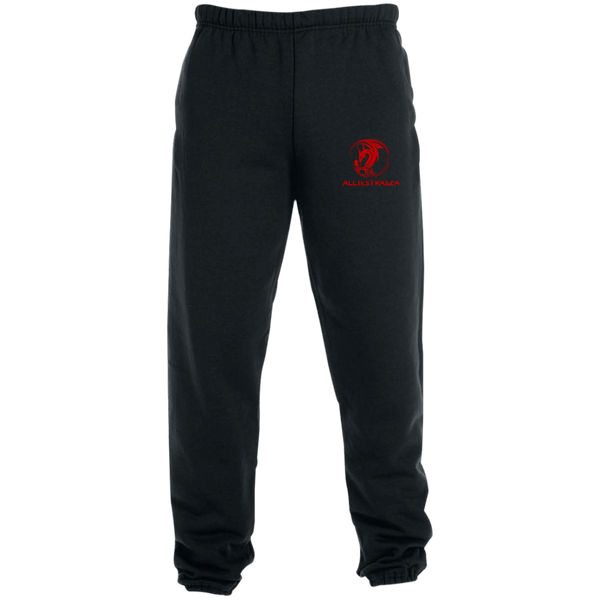 Sweatpants with Pockets - Red Dragon