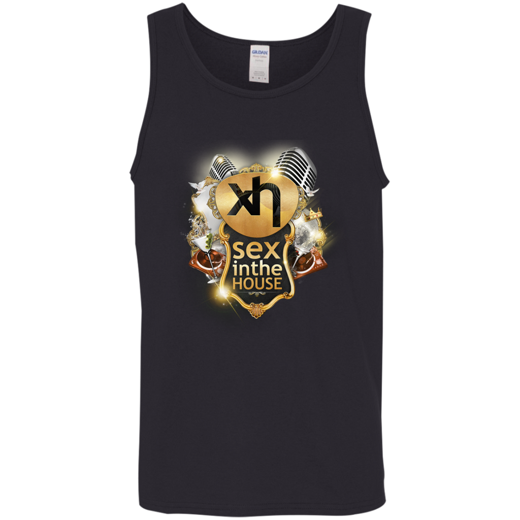 Cotton Tank Top 5.3 oz. - Sex in the House Printed Logo