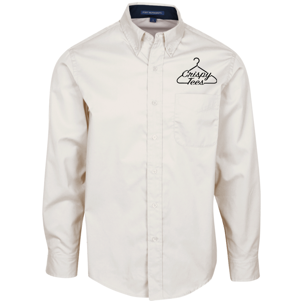 CT-Logo-Clear (1) S608 Port Authority Men's LS Dress Shirt